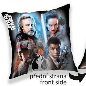 Jerry Fabrics povlak na polštářek Star Wars light/dark  40x40 cm