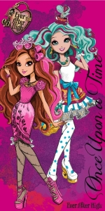 Carbotex osuška Ever After High 70x140 cm