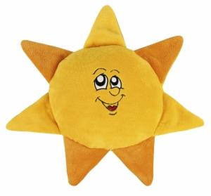 Tvarovaný polštářek Sluníčko