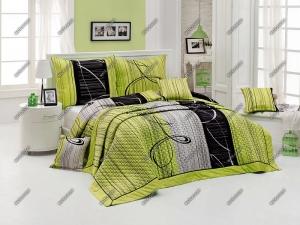 Matějovský přehoz na postel Eternity Green , - 220 x 240 cm