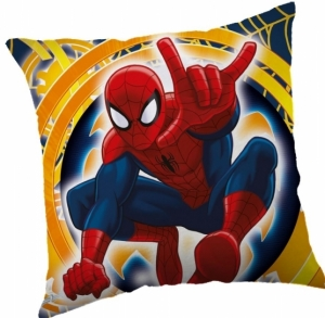 Jerry Fabrics polštářek Spiderman yellow 2016 40x40 cm