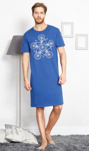 Pánská noční košile s krátkým rukávem Bicycle d06576a45e